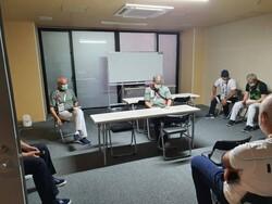 نشست کادر سرپرستی کاروان با سرپرستان تیمهای حاضر در دهکده