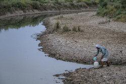 Mehr Haber Ajansı ekibi su krizi bölgesinde