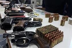 دستگیری اعضای یک شبکه نگهداری سلاح غیرمجاز در مهاباد