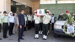 اہواز میں مدافع وطن شہید ضرغام پرست کی تشییع جنازہ