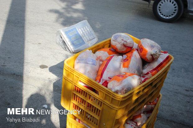 برخورد با متولیان مسامحه کننده در نظارت بر توزیع وافزایش قیمت مرغ