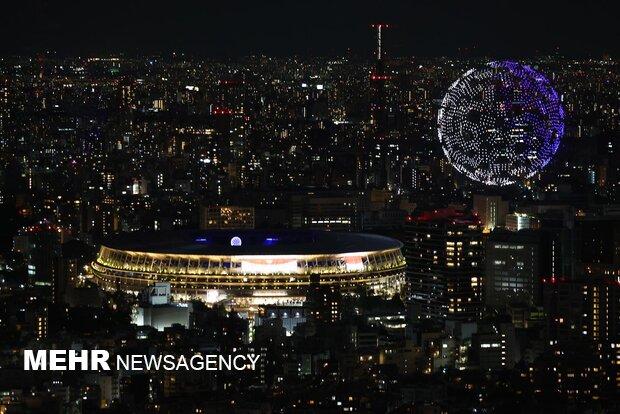 مراسم افتتاحیه المپیک توکیو