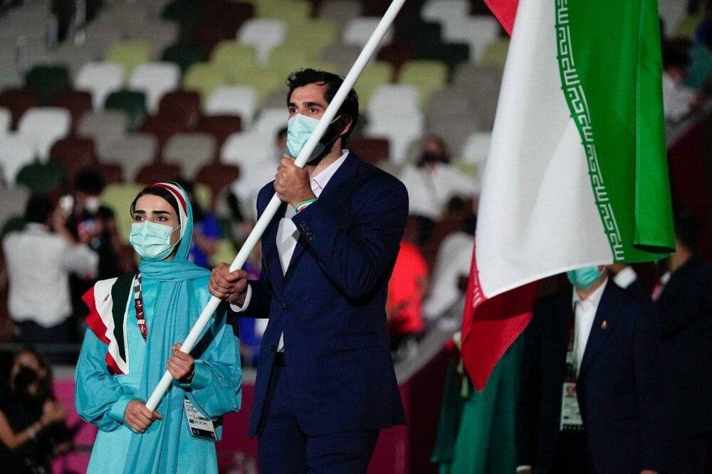 لباس رسمی ایران زیباتر از بسیاری شرکت کنندگان المپیک