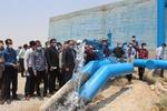 آخرین روستای محروم پارسیان به آب رسید