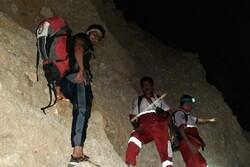 کوهنوردان گرفتار در ارتفاعات شهرستان جم نجات یافتند