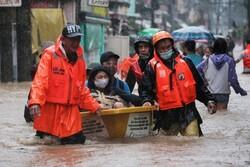 فیلیپین هزاران نفر از مردم پایتخت را تخلیه کرد