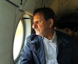 بازدید هوایی جهانگیری از طرح ۵۵۰ هزار هکتاری در خوزستان