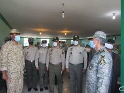 بازدید فرمانده ارتش از مرکز آموزش شهید اسدی و پادگان شهید ابوذری