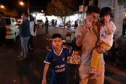 شادی مردم در زادگاه جواد فروغی