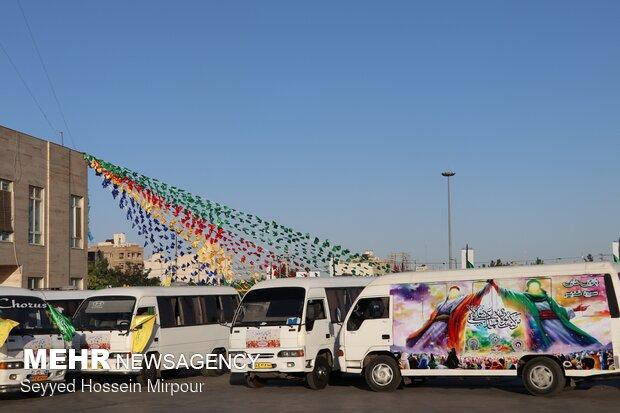 آغاز جشن های عید غدیر در مشهد