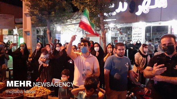 İranlı milli atıcının Tokyo'daki şampiyonluğu kendi memleketinde kutlandı