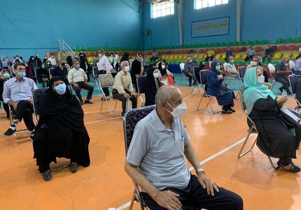 نظارت بر روند واکسیناسیون کرونا در البرز