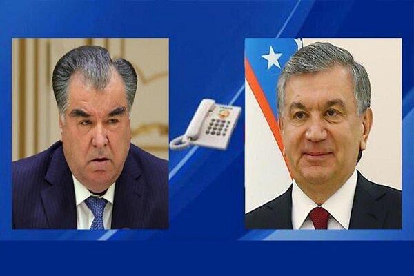 گفتگوی روسای جمهور تاجیکستان و ازبکستان با موضوع افغانستان