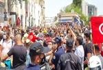 برقراری منع رفت و آمد شبانه در تونس