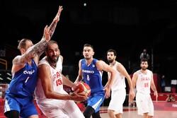 تیم ملی بسکتبال ایران برابر چک شکست خورد