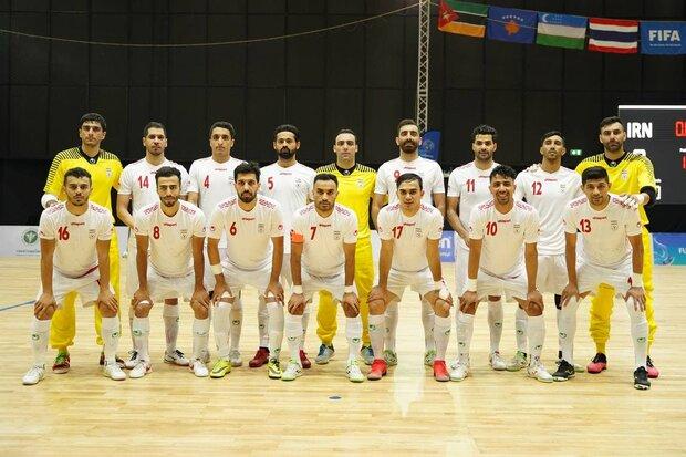 منتخب ايران لكرة الصالات يتوج بلقب بطولة تايلند
