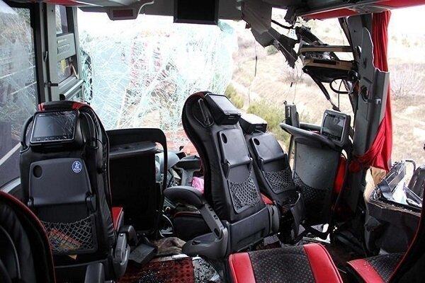 10 people killed in bus overturn in Czech Republic