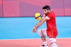 عبادیپور کاپیتان تیم ملی والیبال در مسابقات قهرمانی آسیا شد