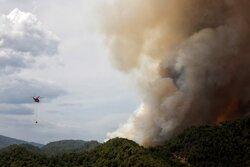 حریق در ارتفاعات فیروزآباد ٣ کشته و یک مصدوم برجا گذاشت
