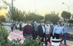 پروژه باغ راه حضرت فاطمه زهرا (س) به زودی افتتاح می شود