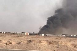 فرقة الامام علي علية السلام تعلن استهداف أحد مخازنها بطائرة مسيرة في النجف