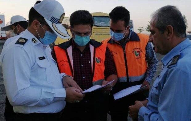 اجرای طرح مشترک نظارت بر ناوگان حمل و نقل عمومی در البرز