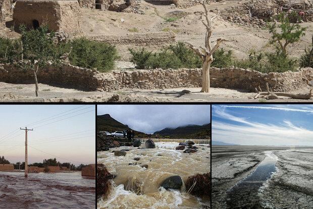 سیل و خشکسالی دو روی سکه کرمان/ منابع آب مدیریت شود