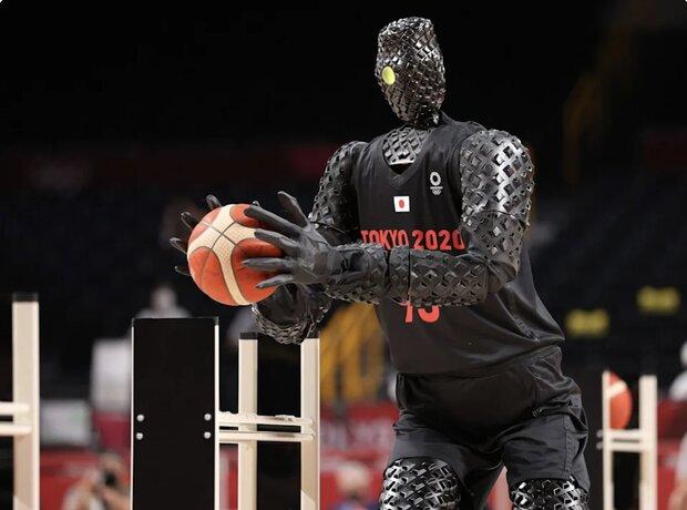 المپیک توکیو میزبان ربات بسکتبالیست شد