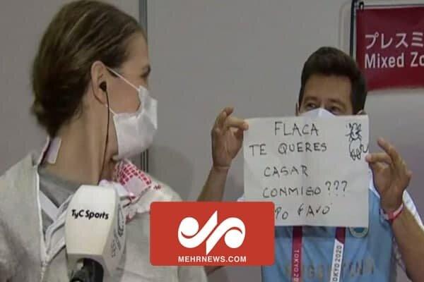 ٹوکیو اولمپکس میں مربی نے اپنی شاگرد کو شادی کی پیشکش کردی