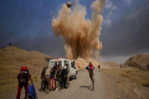 Irak'ta Haşdi Şabi güçlerine ait bir karargaha hava saldırısı