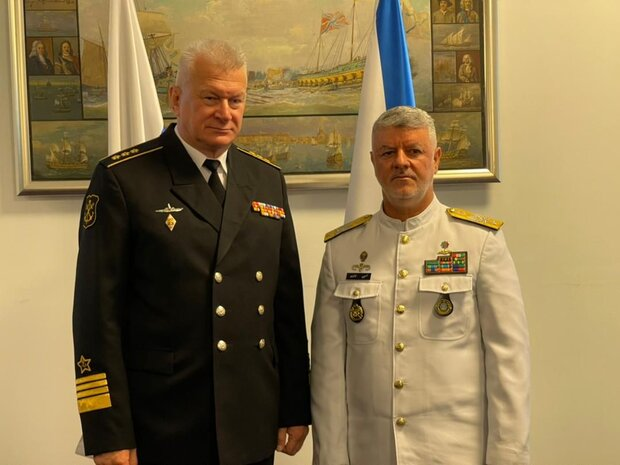 Iranian, Russian navy commanders discuss to counter threats