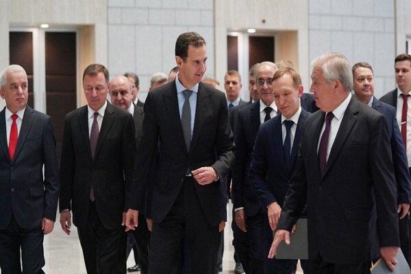 الأسد يستقبل مبعوث الرئيس الروسي ويبحث معه العلاقات الثنائية