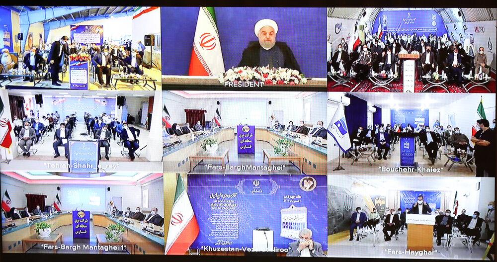 افتتاح چند طرح در حوزه محیط زیست و منطقه آزاد با حضور رئیسجمهور