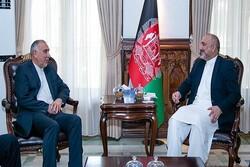 İranlı yetkili Afganistan Dışişleri Bakanı ile görüştü