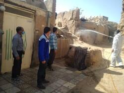 اتمام عملیات سمپاشی علیه حشرات ناقل بیماری «سالک» در اردستان