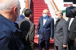 قاليباف يصل دمشق