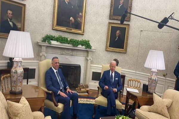 بایدن: آمریکا به آموزش نیروهای عراقی ادامه خواهد داد