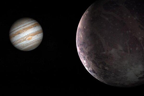 شواهد وجود بخار آب در بزرگترین قمر مشتری کشف شد