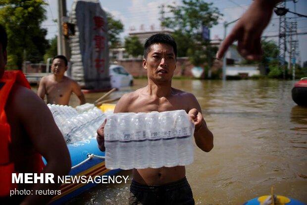 هنان چین پس از سیل مرگبار