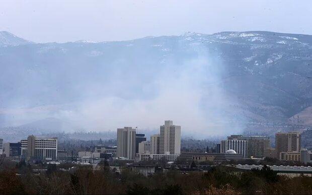 دود آتش سوزی نرخ ابتلا به کووید را افزایش می دهد!