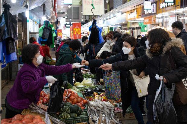 صعود قیمتها در کره جنوبی بدلیل گرمای شدید هوا