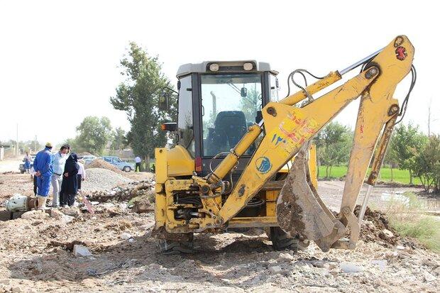 حادثه در خط انتقال آب اصفهان بزرگ مهار شد