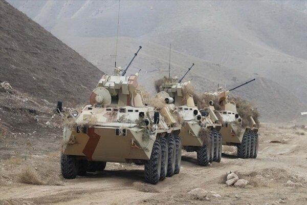 رزمایش روسیه، تاجیکستان و ازبکستان در منطقه مرزی با افغانستان