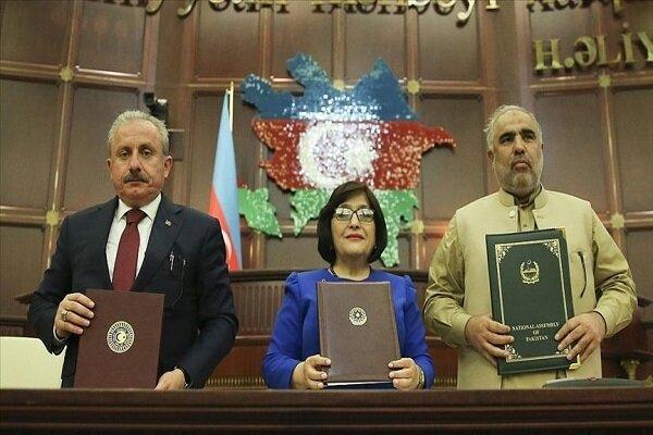 نشست سه جانبه رؤسای مجلس ترکیه، جمهوری آذربایجان و پاکستان