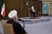 رہبر معظم انقلاب اسلامی سے کابینہ کے اراکین کی ملاقات