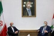 Ghalibaf meets Syrian counterpart