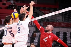 Iran shocked by Canada in straight sets: Tokyo 2020