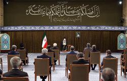Ayetullah Hamanei bakanlar kurulu üyeleri ile görüştü