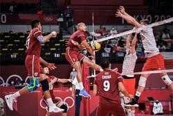 پیروزی تیم ملی والیبال لهستان بر کانادا/ بازی سرنوشت برای ایران
