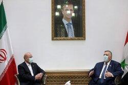 Galibaf Şam'da Suriyeli mevkidaşı ile görüştü
